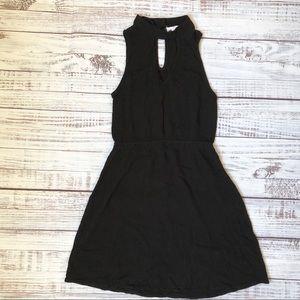 Full Tilt Black Mini Dress
